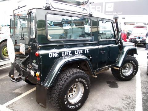 Mooie Quote van Land Rover 60 jarig bestaan