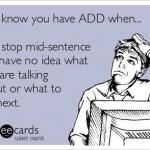 Met ADHD ook herkenbaar hoor! XD